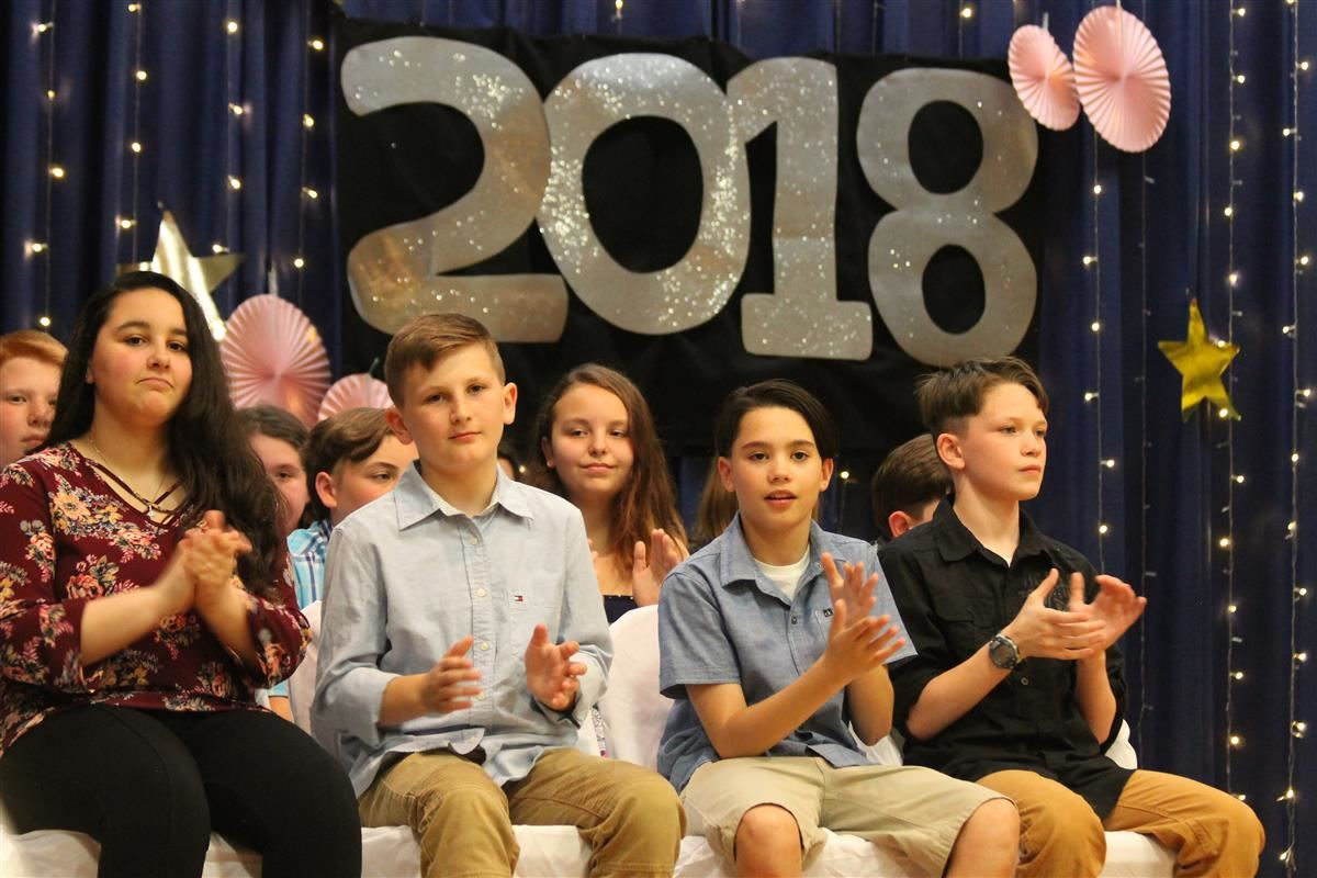 Class of 2024 Moves up to Junior High School