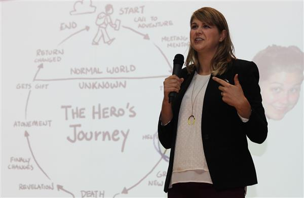 National Teacher of the Year Inspires Saugerties Educators