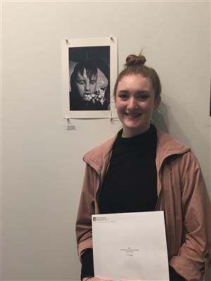 SHS Student Rachel Hofstatter Wins 2nd Place in Art Show