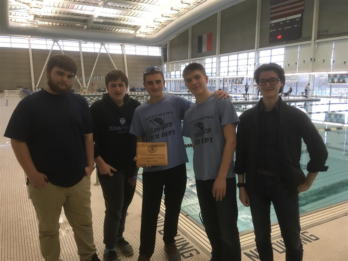 Technology Students Win Awards at Regional Robotics Event